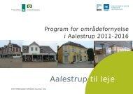 Program for områdefornyelse - Vesthimmerlands Kommune