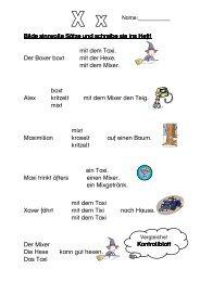 Sinnvolle Sätze bilden - Kontrollblatt (PDF-Datei) - member