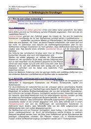 Zellbiologische Grundlagen - member