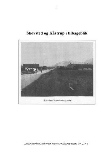 Skovsted og Kåstrup i tilbageblik - Thisted Museum