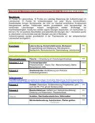 Laborprogramm 3H / 3F - member