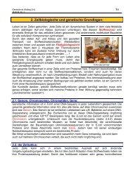 Zellbiologische und genetische Grundlagen - member