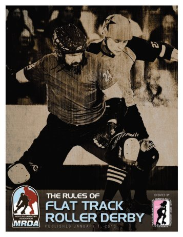 The Rules of Flat Track Roller Derby - Men's Roller Derby Association