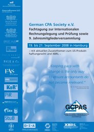 German CPA Society eV - anubo