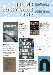 JuleNs bogkAtAlog 2012 - Byggecentrum