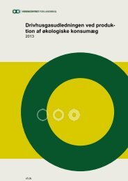 tion af økologiske konsumæg - LandbrugsInfo