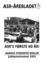 mar 2003 - ASR - Aarhus Studenter Roklub