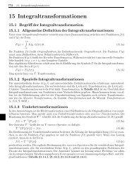 15 Integraltransformationen