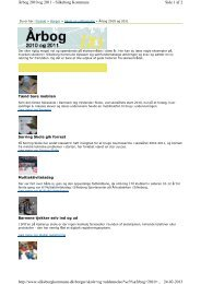 Side 1 af 2 Årbog 2010 og 2011 - Silkeborg Kommune 24-02-2013 ...