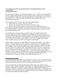 Tre analytiske synsvinkler: den formalanalytiske, den ... - Emu