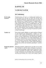 KAPITEL III VAND OG NATUR - De Økonomiske Råd