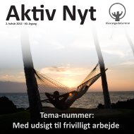 Aktiv Nyt - Efterår 2012 - KlostergadeCentret