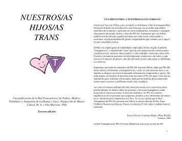 NUESTROS/AS HIJOS/AS TRANS - Members.efn.org
