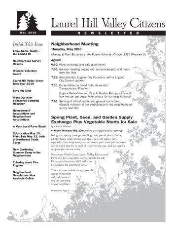 Spring 2010 - Members.efn.org