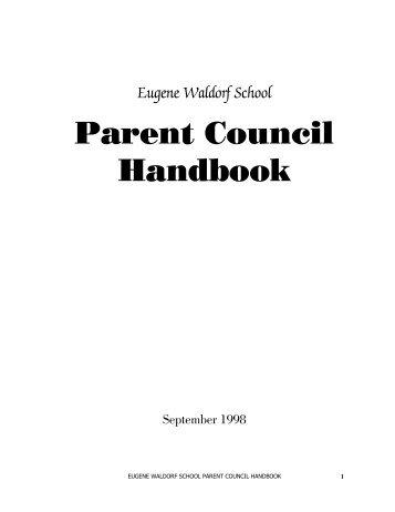 Parent Council Handbook - Members.efn.org