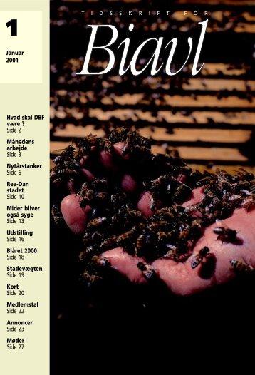 Tidsskrift for Biavl 2001
