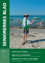 Seniorernes Blad nr. 3 2011 - Pensionisternes Samvirke