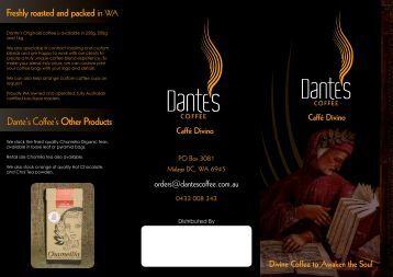 Dante's Coffee
