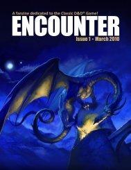 Encounter Magazine - Issue 1 - March 2010