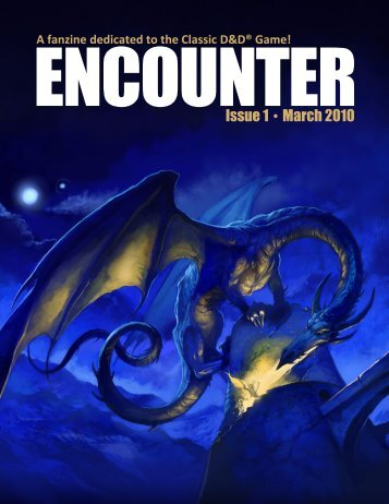 Encounter Magazine - Issue 1 - March 2010
