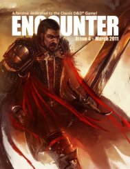Encounter Magazine - Issue 4 - March 2011