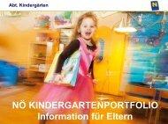 portfolio im kindergarten