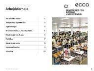 Se faktateksterne om arbejdsforhold i ECCO - Emu