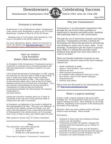 sample-newsletter-membersshawca-shaw  Page Pta Newsletter Template on
