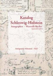 Bücher - Antiquariat und Auktionshaus Schramm, Kiel