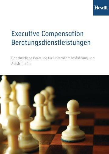 Executive Compensation Analytik - Aon