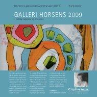 Galleri Horsens 2009 - Horsens Kunstforening