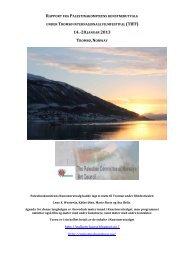 Rapport fra Tromsø Internasjonale Filmfestival, januar 2013