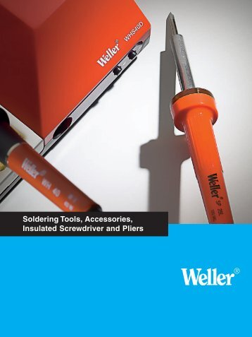 Soldering Tools, Accessories, Insulated Screwdriver and Pliers - Upc