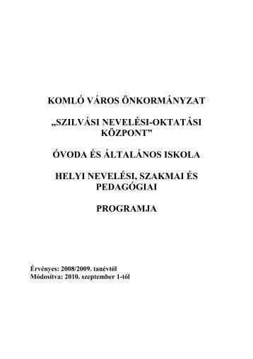 Pedagógiai Program - Upc
