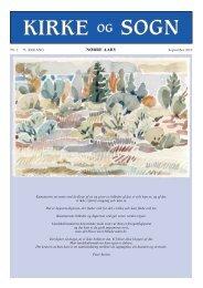Kirkeblad 0810:Kirkeblad 0307 - Nørre Aaby Kirkes