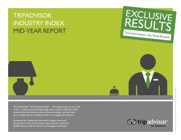TRIPADVISOR INDUSTRY INDEX MID-YEAR REPORT - ThinkTur