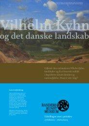 Download lærervejledning - Vilhelm Kyhn & det danske landskab
