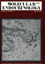 Front Matter (PDF) - Molecular Endocrinology