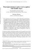Language and Cognitive Processes - Institut für Phonetik - Page 2