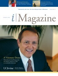 A Visionary Donor - The Paul Merage School of Business