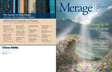 Managing the Seas of Change - The Paul Merage School of Business