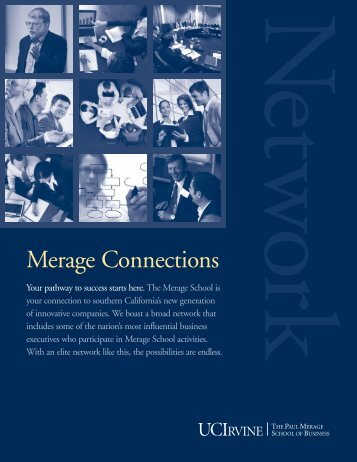 Network - The Paul Merage School of Business