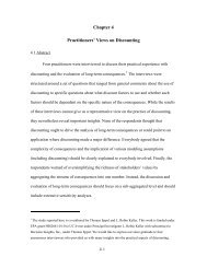 Chapter 4 Practitioners' Views on Discounting