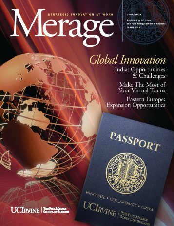 Global Innovation - The Paul Merage School of Business - University ...