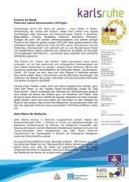 [PDF] Pressemitteilung - Karlsruher Messe- und Kongress-GmbH