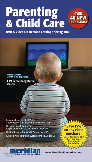 Parenting & Child Care - Meridian Education