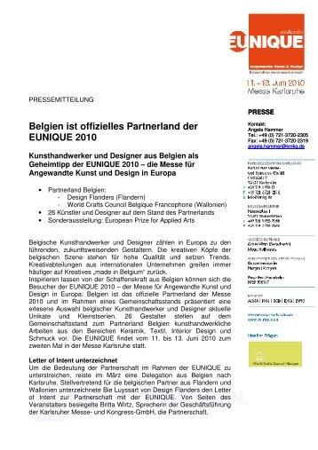 Pressemeldung (PDF) - Messe Karlsruhe