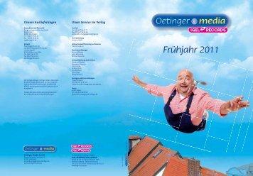 Frühjahr 2011 - Verlagsgruppe Oetinger