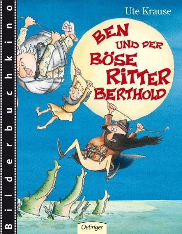 Krause · Ben und der Böse Ritter Berthold - Verlag Friedrich Oetinger