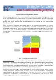 Hvordan skal den enkelte kunderelation udvikles? Det ... - DI Handel